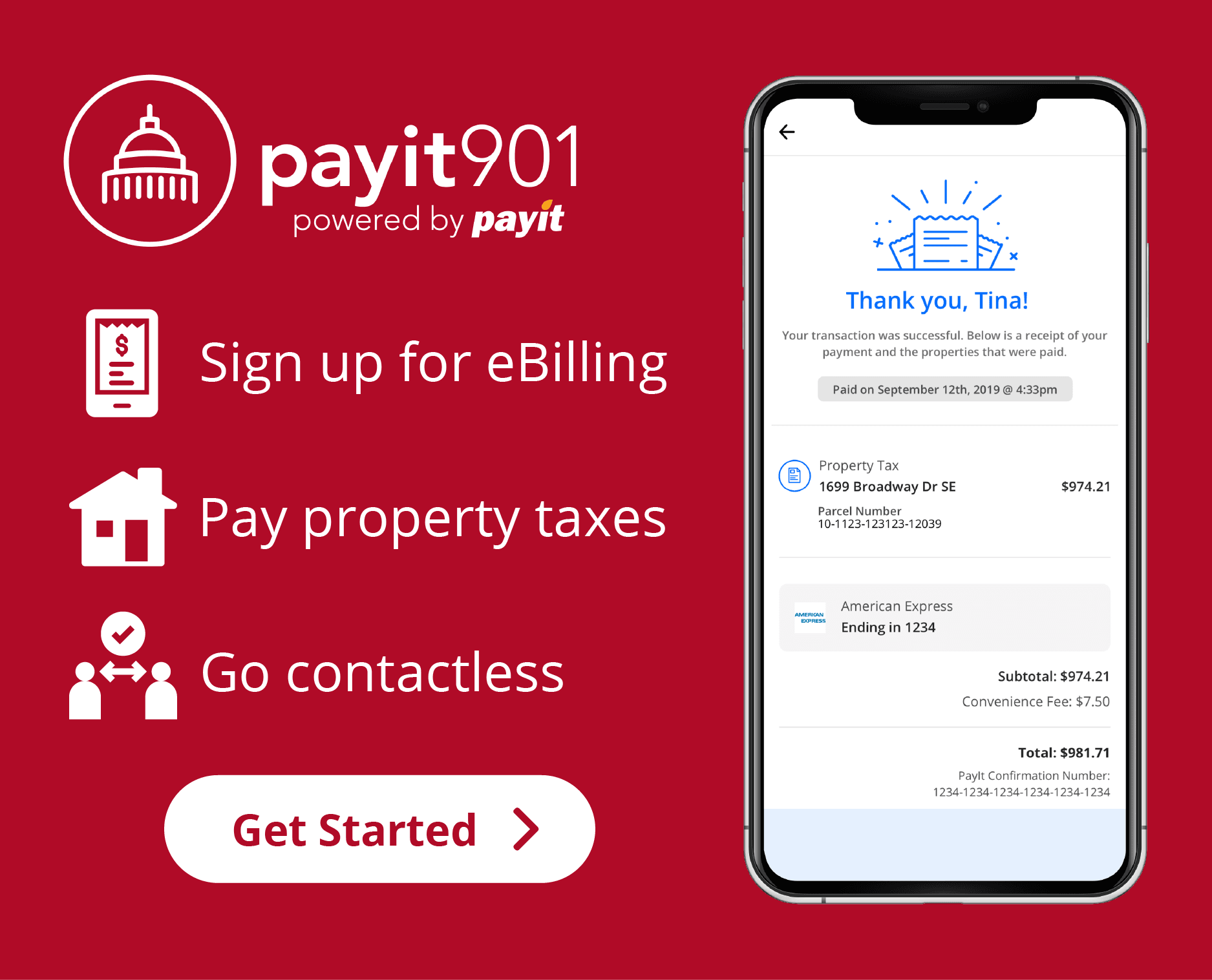 Payit901 - Pay Property Taxes